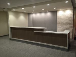 Stone Reception Desk Supplier