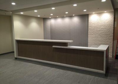 Stone Reception Desk Supplier