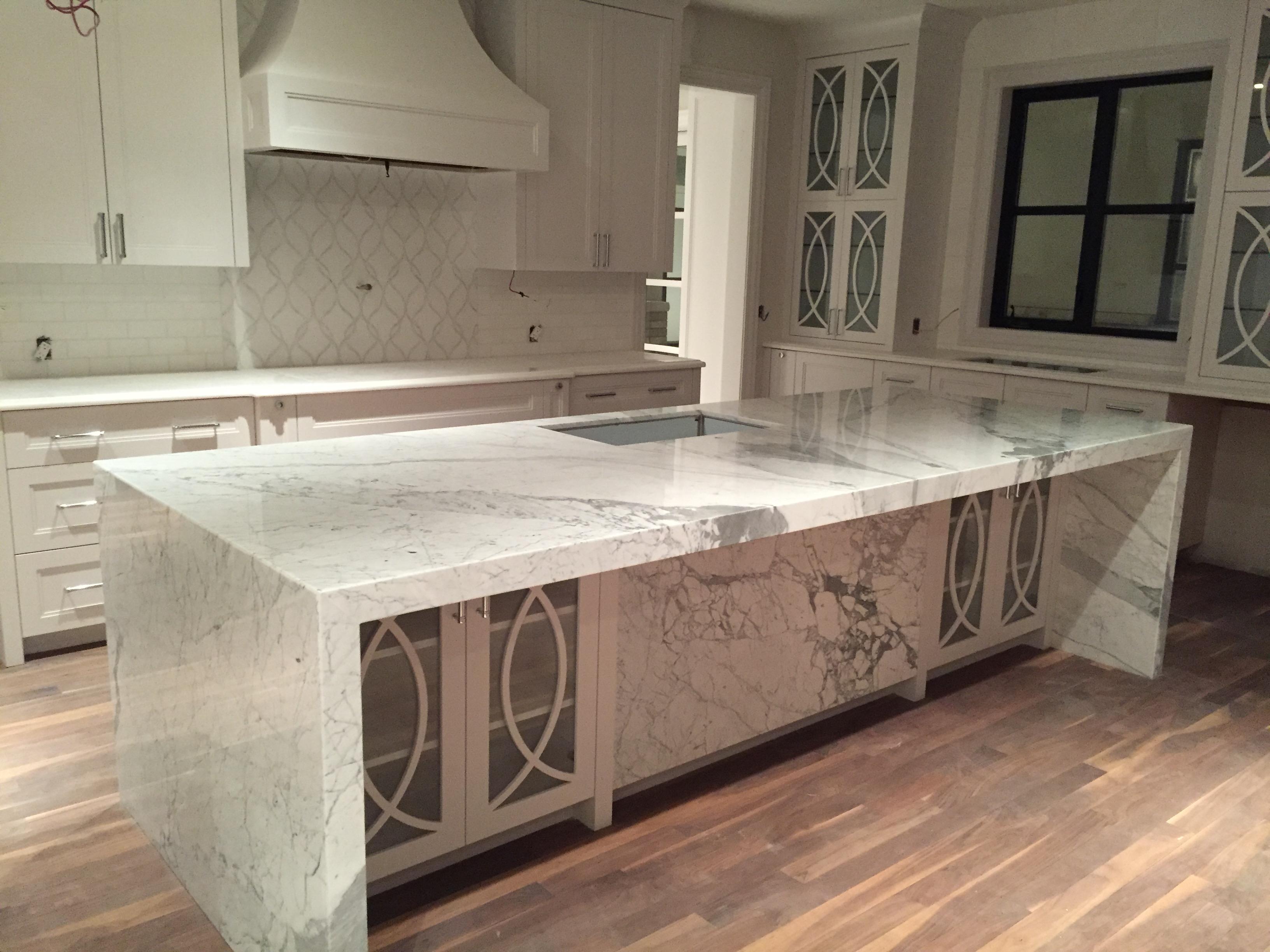Kitchen Island Granite Countertop Laporte Surfaces