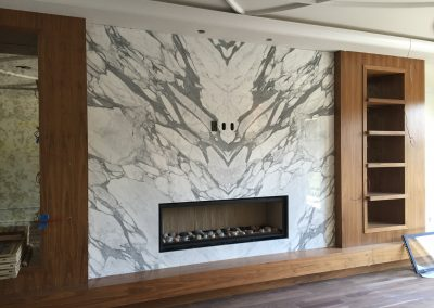 Laporte Surfaces Calgary | Fireplace Marble